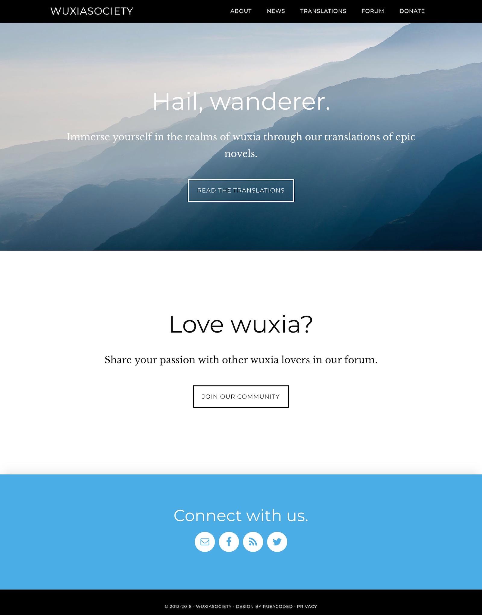 WuxiaSociety - RubyCoded